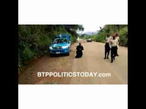 A Clergyman Kneels Down To Beg FRSC Officials (Video)